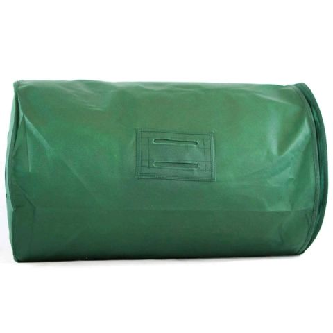 Green Breathable Feather Duvet Storage Bag & Carrier
